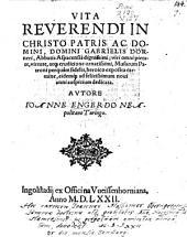Vita Gabrielis Dorneri, Abbatis Aspac