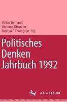 Politisches Denken  Jahrbuch 1992 PDF