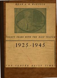 The Half Colyum  1925 1945 PDF