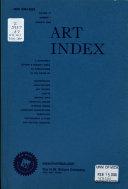 Art Index Retrospective PDF