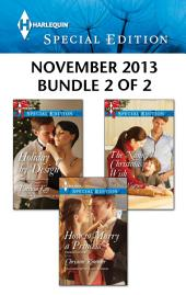 Harlequin Special Edition November 2013 - Bundle 2 of 2: An Anthology