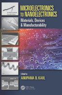 Microelectronics to Nanoelectronics