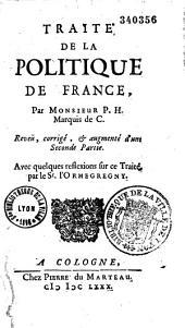 Traité de la politique de France...