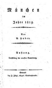 München im Jahre 1819: Anhang ; Darstellung der neuesten Numerirung. 2