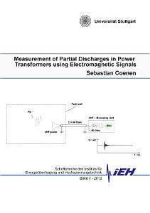 Measurement of Partial Discharges in Power Transformers using Electromagnetic Signals