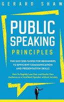 Public Speaking Principles