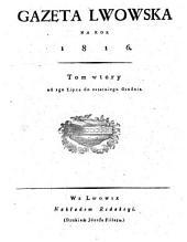 Gazeta Lwowska. (Lemberger Zeitung.)