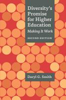 Diversity s Promise for Higher Education PDF