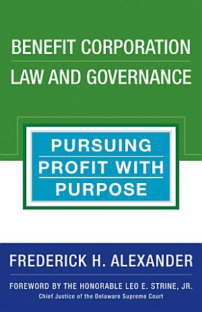 Benefit Corporation Law and Governance PDF