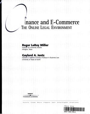 Finance and E commerce