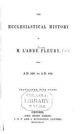 Ecclesiastical History from A.D. 400 to 456: Tr. with Notes, Volume 2