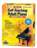 Alfred s Self Teaching Adult Piano Beginner s Kit Book