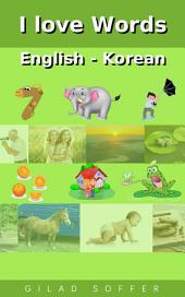 I love Words English - Korean