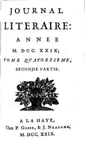 Journal litéraire: Volume 12 ;Volume 14