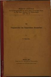 Die Vorgeschichte des homerischen Hexameters