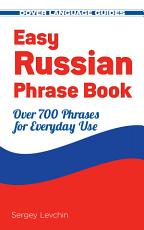 Easy Russian Phrase Book NEW EDITION PDF
