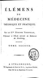 Eléments de médecine théorique et pratique: Volume2