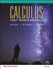 Calculus Early Transcendentals, 11th Edition: Edition 11