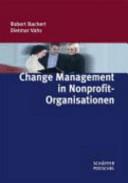 Change Management in Nonprofit Organisationen PDF