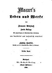 Mozart's Leben und Werke: Bände 3-4