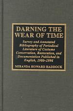 Darning the Wear of Time