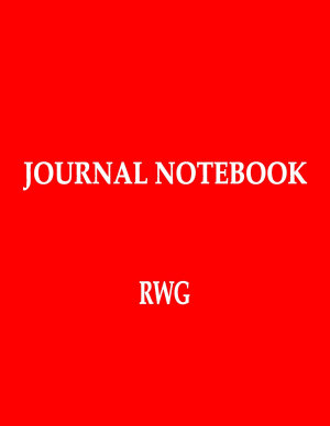 Journal Notebook: 100 Pages 8.5