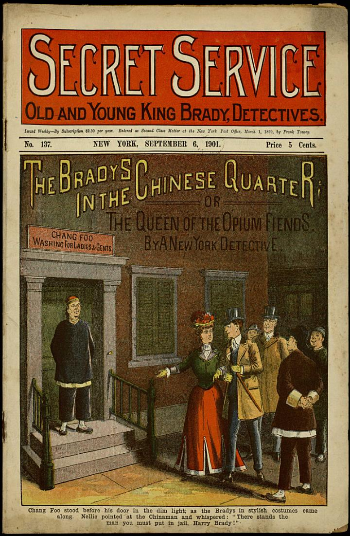 The Bradys in the Chinese Quarter; Or, The Queen of the Opium Fiends