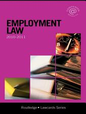 Employment Lawcards 2010-2011: Edition 7