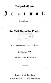 Dinglers polytechnisches journal: Band 142