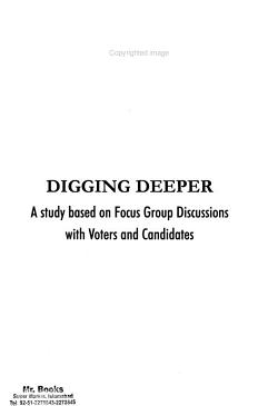 Digging Deeper PDF