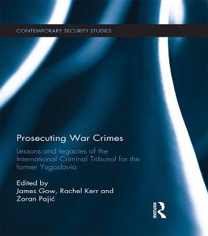 Prosecuting War Crimes PDF