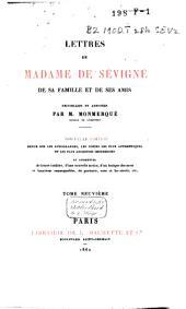 Lettres de Madame de Sévigné, de sa famille et de ses amis: Volume11
