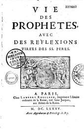 Vies des prophètes, avec des réflexions