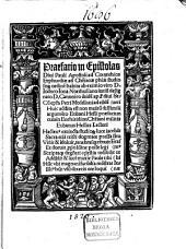Praefatio in epistolas divi Pauli apostoli ad Corynthios