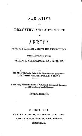 Narrative of Discovery and Adventure in Africa PDF