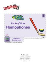 Homophones--Hockey Tricks Literacy Center
