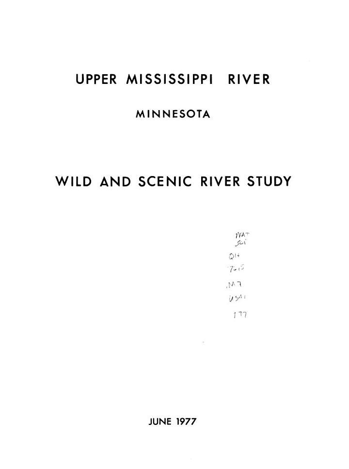 The Upper Mississippi