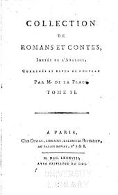 Collection de romans et contes: imités de l'Anglois, Volume 2