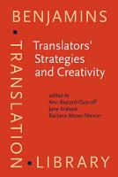Translators  Strategies and Creativity PDF