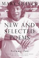 New and Selected Poems  Volume Two PDF