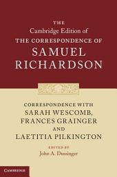 Correspondence with Sarah Wescomb, Frances Grainger and Laetitia Pilkington