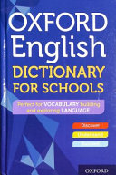 Oxford English Dictionary For Schools Book PDF