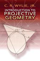 Introduction to Projective Geometry PDF