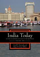 India Today  An Encyclopedia of Life in the Republic  2 volumes  PDF