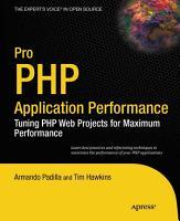 Pro PHP Application Performance PDF