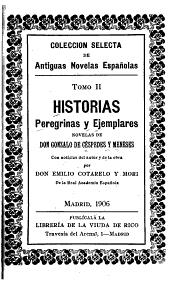 Historias peregrinas y ejemplares: novelas