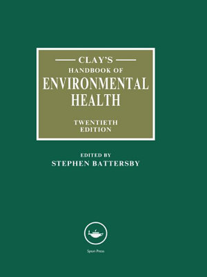 Clay s Handbook of Environmental Health PDF