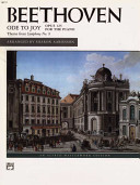 Ode to Joy  Theme from 9th Symphony  PDF