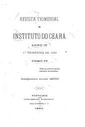 Revista do Instituto do Ceará: Volume 4