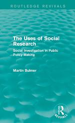 The Uses of Social Research (Routledge Revivals)